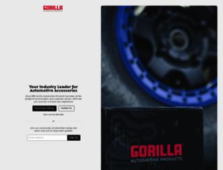 gorilla-auto.com screenshot