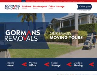 gormans.com.au screenshot