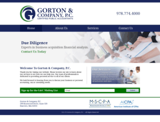 gortoncpa.com screenshot