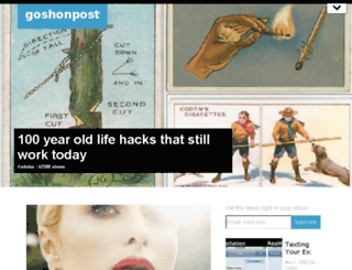 goshonpost.com screenshot