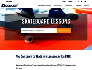 goskate.com screenshot