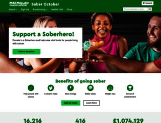 gosober.org.uk screenshot