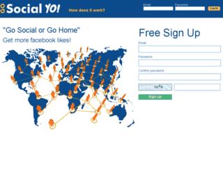 gosocialyo.com screenshot