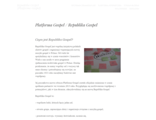 gospel.com.pl screenshot