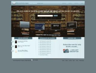 gospelink.com screenshot