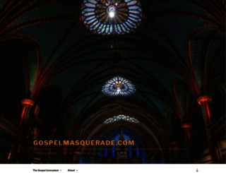 gospelmasquerade.com screenshot