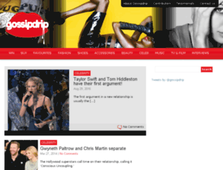 gossipdrip.com screenshot
