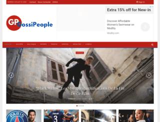 gossipeople.com screenshot