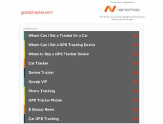gossiptracker.com screenshot
