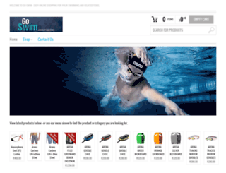 goswim.co.za screenshot