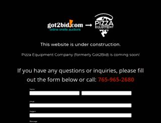 got2bid.com screenshot
