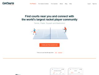 gotcourts.com screenshot