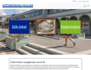 goteborgslokaler.se screenshot