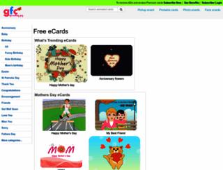 gotfreecards.com screenshot