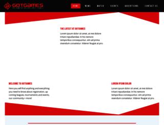 gotgames.com.au screenshot