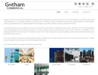 gothamcommercial.com screenshot