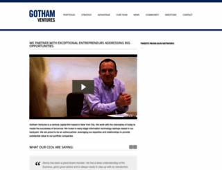 gothamvc.com screenshot