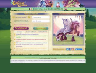 gothicat-world.com screenshot