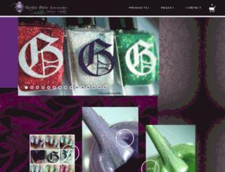 gothicgalalacquers.bigcartel.com screenshot