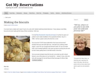 gotmyreservations.com screenshot