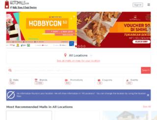 gotomalls.com screenshot
