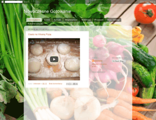 gotujzzzdrowo.blogspot.com screenshot