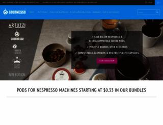 gourmesso.com screenshot