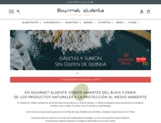 gourmetaldente.com screenshot