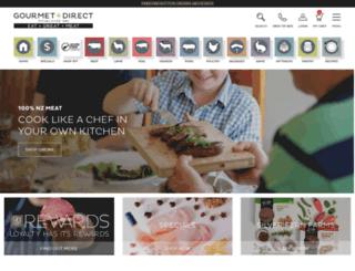 gourmetdirect.co.nz screenshot