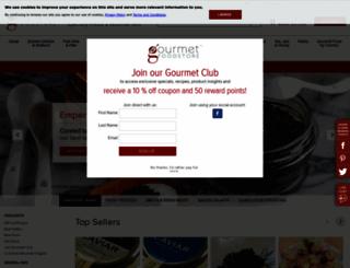 gourmetfoodstore.com screenshot
