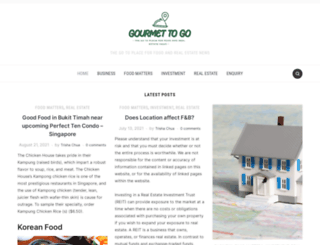 gourmettogo.com.sg screenshot