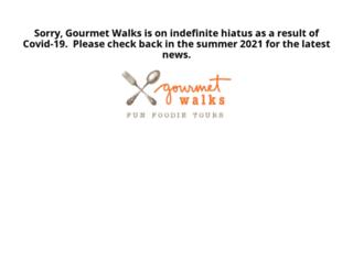 gourmetwalks.com screenshot