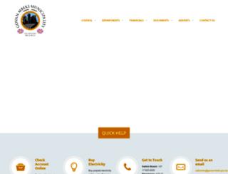 govanmbeki.gov.za screenshot