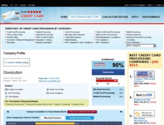 govolution.topcreditcardprocessors.com screenshot