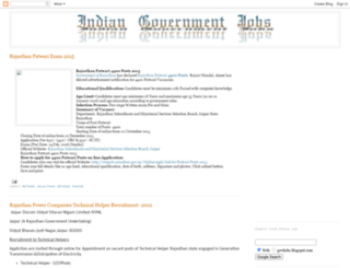 govtjobs.blogspot.in screenshot