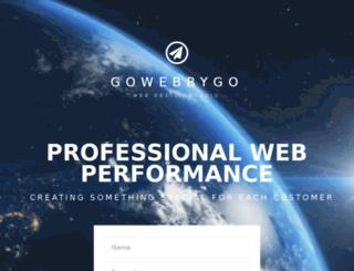 gowebbygo.com screenshot