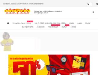 gozgoz.com.tr screenshot