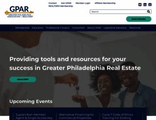 gpar.org screenshot