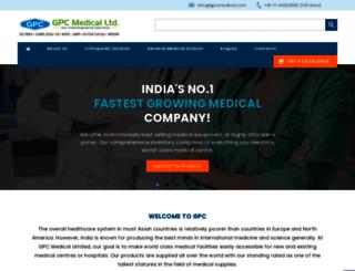 gpcmedical.com screenshot
