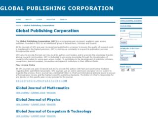 gpcpublishing.com screenshot