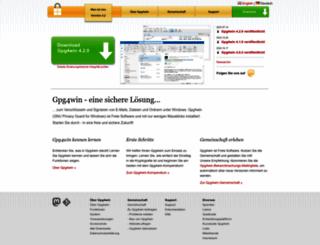 gpg4win.de screenshot