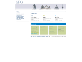 gpgplc.com screenshot