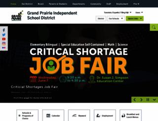 gpisd.schoolwires.net screenshot