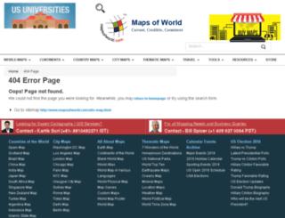 gps.mapsofworld.com screenshot