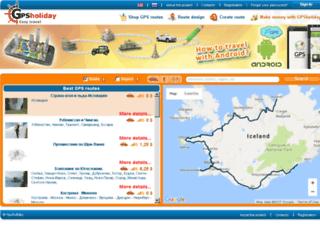 gpsholiday.com screenshot