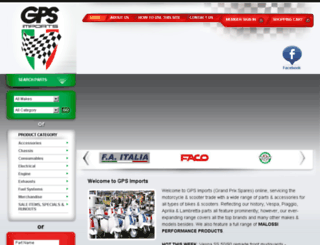 gpsimports.com.au screenshot