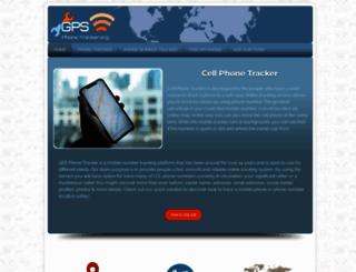 gpsphonetracker.org screenshot