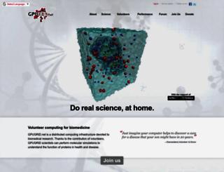 gpugrid.net screenshot
