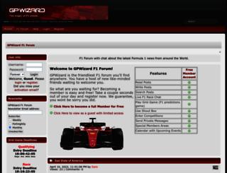 gpwizard.co.uk screenshot