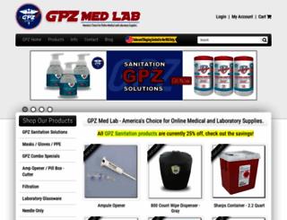 gpzmedlab.com screenshot